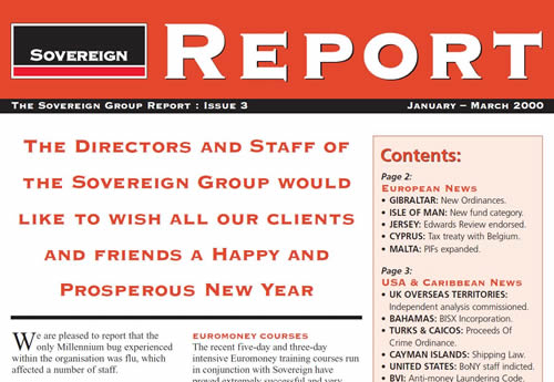 Sovereign Report – issue 3