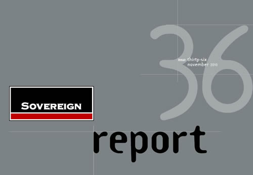 Sovereign Report – Issue 36