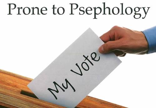 Prone to Psephology