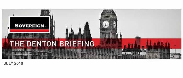 The Denton Briefing July 2016